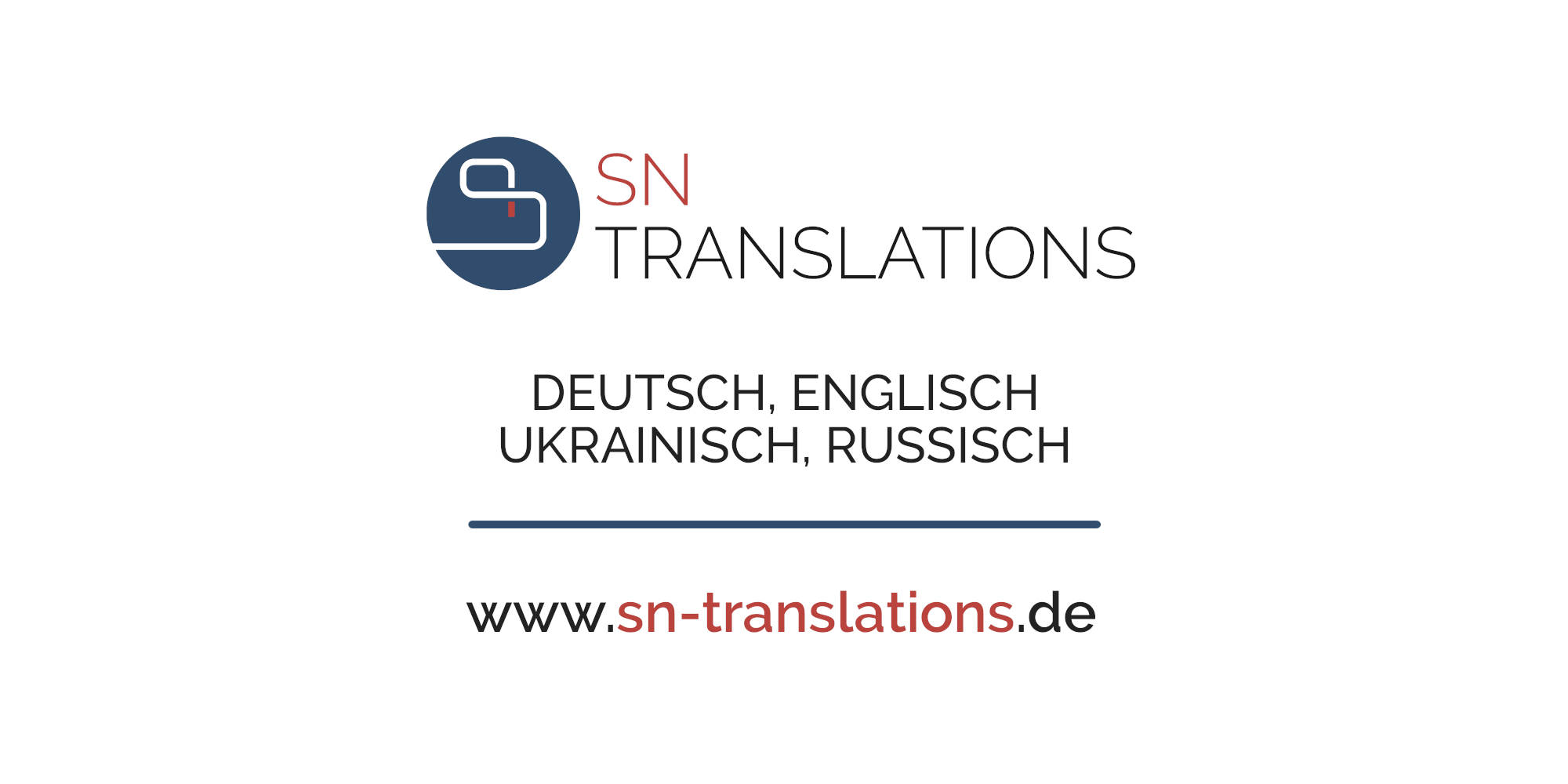 OpenGraph: Twitter - SN Translations • Übersetzungsbüro • Deutsch, Englisch, Ukrainisch, Russisch
